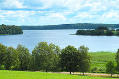 Paesaggio in Lituania. fotografia stock