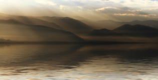 Paesaggio luminoso Fotografia Stock Libera da Diritti