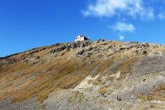 Paesaggio lunare delle alpi & dell'Italia Fotografie Stock Libere da Diritti