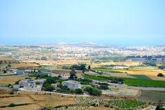 Paesaggio a Malta Immagini Stock Libere da Diritti
