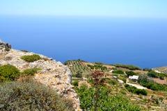 Paesaggio a Malta Fotografia Stock Libera da Diritti