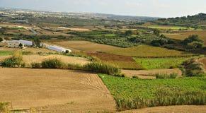 Paesaggio maltese di autunno Fotografie Stock