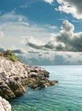 Paesaggio marino Fotografia Stock
