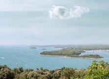 Paesaggio marino Fotografia Stock Libera da Diritti