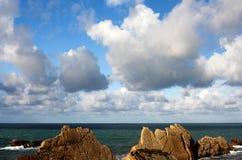 Paesaggio marino Fotografie Stock