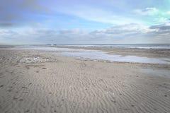 Paesaggio marino di inverno Immagine Stock Libera da Diritti