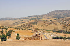 Paesaggio marocchino Fotografia Stock Libera da Diritti