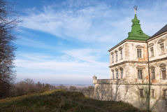Paesaggio medioevale (con copyspace) Fotografie Stock
