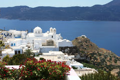 Paesaggio mediterraneo Fotografia Stock Libera da Diritti