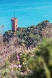 Paesaggio Mediterraneo - Liguria Fotografia Stock