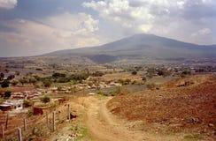Paesaggio messicano fotografie stock