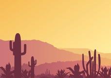 Paesaggio messicano Fotografia Stock