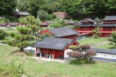 Paesaggio miniatura del palazzo di estate, Cina Fotografia Stock Libera da Diritti