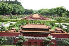 Paesaggio miniatura del posto imperiale Fotografia Stock Libera da Diritti