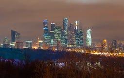 Paesaggio moderno della città fotografie stock libere da diritti