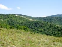 Paesaggio in montagne Fotografia Stock