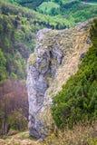 Paesaggio montagnoso alla collina di Klak fotografia stock