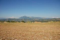 Paesaggio montano Fotografia Stock
