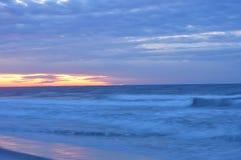 Paesaggio morbido dell'oceano Fotografia Stock