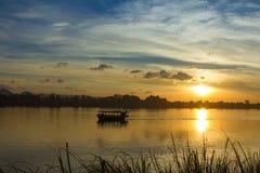 Paesaggio, natura, tramonto Fotografia Stock