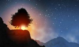 Paesaggio naturale Fotografia Stock