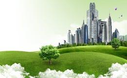 Paesaggio naturale. concetto ecologico Fotografia Stock
