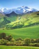 Paesaggio naturale della montagna Fotografie Stock Libere da Diritti