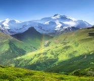 Paesaggio naturale della montagna Immagini Stock Libere da Diritti