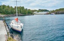 Paesaggio naturale della Norvegia della natura fotografia stock