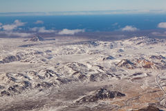 Paesaggio naturale di vista aerea Fotografie Stock