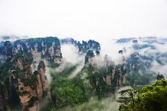 Paesaggio naturale di Zhangjiajie Fotografia Stock