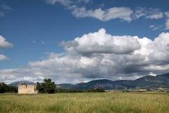 Paesaggio naturale nell'Alta Provenza Fotografie Stock Libere da Diritti