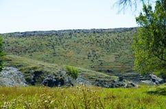 Paesaggio negli altopiani Fotografia Stock Libera da Diritti