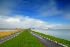 Paesaggio nei Paesi Bassi Immagini Stock Libere da Diritti