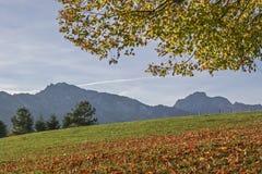 Paesaggio nel Allgaeu Fotografie Stock Libere da Diritti