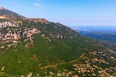 Paesaggio nel Alpes Maritimes, Francia Immagine Stock Libera da Diritti