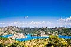 Paesaggio nel Croatia Fotografia Stock Libera da Diritti