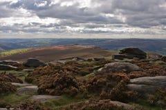 Paesaggio nel distretto di punta, Inghilterra Fotografia Stock Libera da Diritti