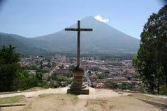 Paesaggio nel Guatemala Immagini Stock