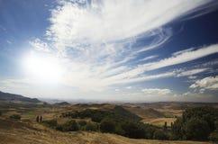 Paesaggio nel Marocco Fotografia Stock Libera da Diritti