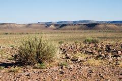 Paesaggio nel Namibia Fotografia Stock