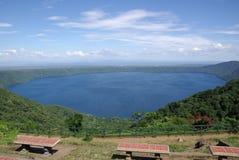 Paesaggio nel Nicaragua Fotografie Stock