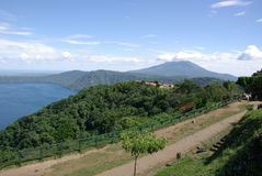 Paesaggio nel Nicaragua Immagine Stock