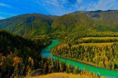 Paesaggio nel paese delle meraviglie Fotografia Stock Libera da Diritti