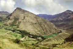 Paesaggio nel Perù Fotografia Stock Libera da Diritti