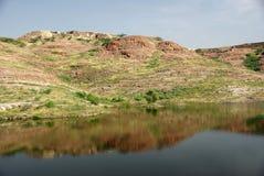 Paesaggio nel Ragiastan Fotografie Stock Libere da Diritti