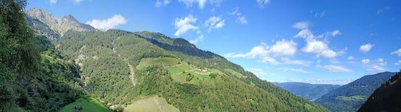 Paesaggio nel Tirolo del sud, Italia Fotografia Stock Libera da Diritti