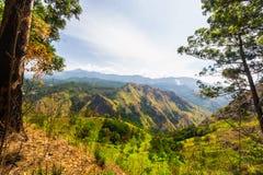 Paesaggio nell'alpeggio dello Sri Lanka Fotografia Stock Libera da Diritti