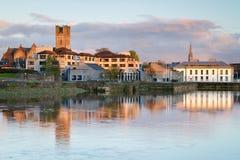 Paesaggio nella città del Limerick Immagini Stock Libere da Diritti