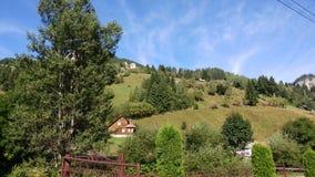 Paesaggio nella montagna Fotografia Stock